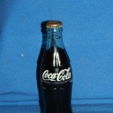Coleccionismo de Coca-Cola y Pepsi: (M) BOTELLA COCA-COLA ANTIGUA LLENA CON CHAPA , 19 CL, SEÑALES DE USO. Lote 128265203