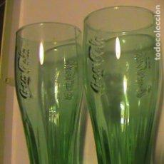 Coleccionismo de Coca-Cola y Pepsi: 2 VASOS DE COCA-COLA. Lote 129117471