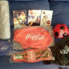 Coleccionismo de Coca-Cola y Pepsi: LOTE DE PRODUCTOS OFICIALES DE COCA COLA NUEVOS. Lote 129380347