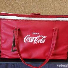 Coleccionismo de Coca-Cola y Pepsi: ANTIGUA NEVERA PORTÁTIL COCA COLA. Lote 129440483
