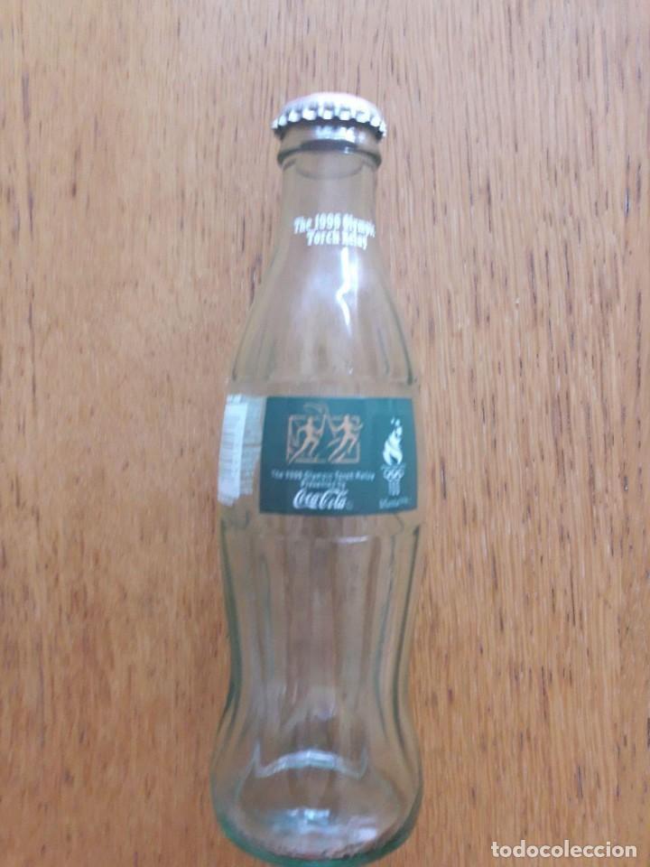 BOTELLA DE COCA-COLA JUEGOS OLÍMPICOS DE ATLANTA 1996 / THE 1996 OLYMPIC TORCH RELAY (Coleccionismo - Botellas y Bebidas - Coca-Cola y Pepsi)