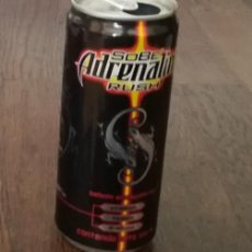 Coleccionismo de Coca-Cola y Pepsi: LATA SOBE ADRENALINE RUSH 0,30 L. ENERGY DRINK CAN BEBIDA ENERGETICA. Lote 218560227