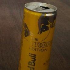 Coleccionismo de Coca-Cola y Pepsi: LATA RED BULL TROPICAL EDITION 0,25 L. BOTE CAN ENERGY DRINK EDICION BEBIDA ENERGETICA. Lote 130081355
