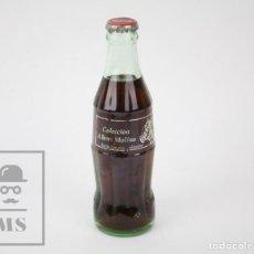 Coleccionismo de Coca-Cola y Pepsi: BOTELLÍN / BOTELLA DE VIDRIO DE COCACOLA / COCA COLA - COLECCIÓN ALBERT MOLINA. UNA HISTORIA VIVA. Lote 130469490