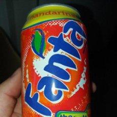Coleccionismo de Coca-Cola y Pepsi: LATA DE FANTA EDICIÓN COLECCIONISMO SABOR MANDARINA AÑO 2002. Lote 130484290