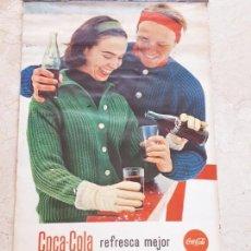 Coleccionismo de Coca-Cola y Pepsi: 1962 COCA-COLA. CALENDARIO COMPLETO. DE PARED. IMPRESO POR SEIX BARRAL (BARCELONA). Lote 130826636