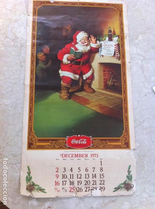 Coleccionismo de Coca-Cola y Pepsi: 1974 Coca-Cola. Calendario Completo pero con las hojas sueltas. Americano. Original - Foto 6 - 130828700