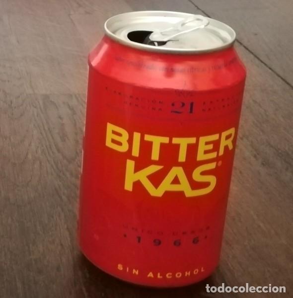 LATA BITTER KAS SIN ALCOHOL 0,33 L. BOTE CAN 1966 (Coleccionismo - Botellas y Bebidas - Coca-Cola y Pepsi)