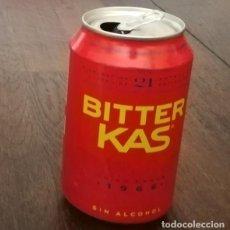 Coleccionismo de Coca-Cola y Pepsi: LATA BITTER KAS SIN ALCOHOL 0,33 L. BOTE CAN 1966. Lote 131080808