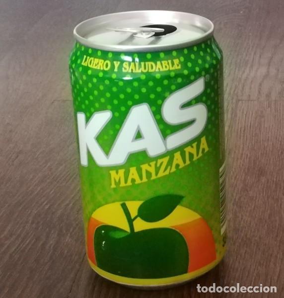 LATA KAS MANZANA 0,33 L. BOTE CAN LIGERO Y SALUDABLE (Coleccionismo - Botellas y Bebidas - Coca-Cola y Pepsi)