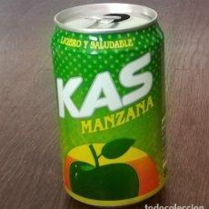 Coleccionismo de Coca-Cola y Pepsi: LATA KAS MANZANA 0,33 L. BOTE CAN LIGERO Y SALUDABLE. Lote 131080848