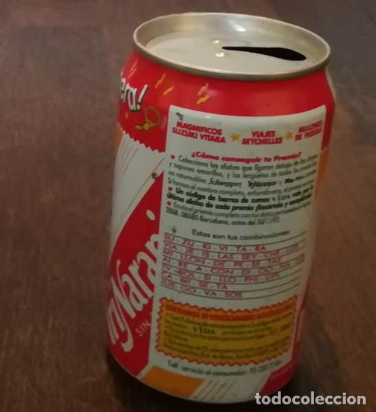Coleccionismo de Coca-Cola y Pepsi: LATA TRINA NARANJA 0,33 L. BOTE CAN DESTAPA LA PRIMAVERA TRINARANJUS SUZUKI VITARA - Foto 2 - 131081104