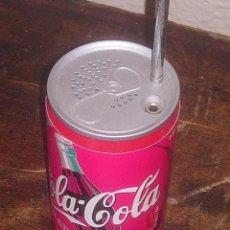 Coleccionismo de Coca-Cola y Pepsi: RADIO BOTE COCA COLA AM/FM. Lote 131108768