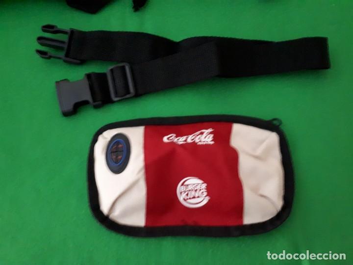Coleccionismo de Coca-Cola y Pepsi: Dos Mochilas y Una Riñonera Burger King y Coca Cola - Foto 7 - 131609682