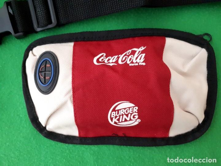 Coleccionismo de Coca-Cola y Pepsi: Dos Mochilas y Una Riñonera Burger King y Coca Cola - Foto 8 - 131609682