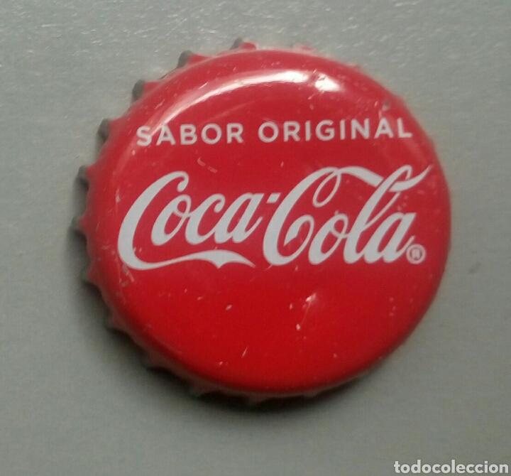 CHAPA COCA COLA SABOR ORIGINAL (Coleccionismo - Botellas y Bebidas - Coca-Cola y Pepsi)