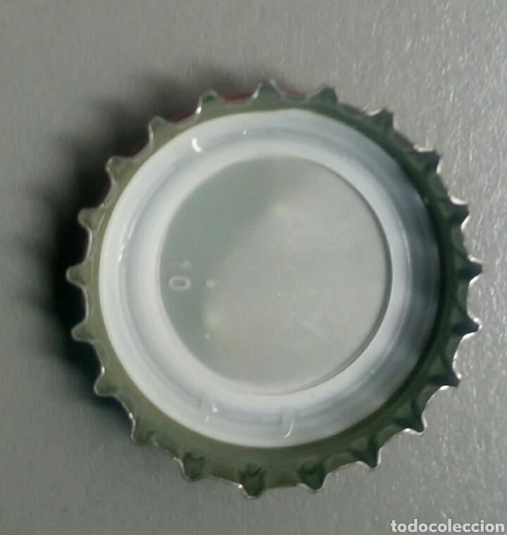 Coleccionismo de Coca-Cola y Pepsi: Chapa coca cola sabor original - Foto 2 - 131679334
