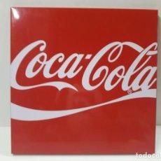 Coleccionismo de Coca-Cola y Pepsi: PLACA - CHAPA PROPAGANDA DE COCA COLA . ORIGINAL AÑOS 80 / 90 . MEDIDA 44 X 44 CM. Lote 132013598