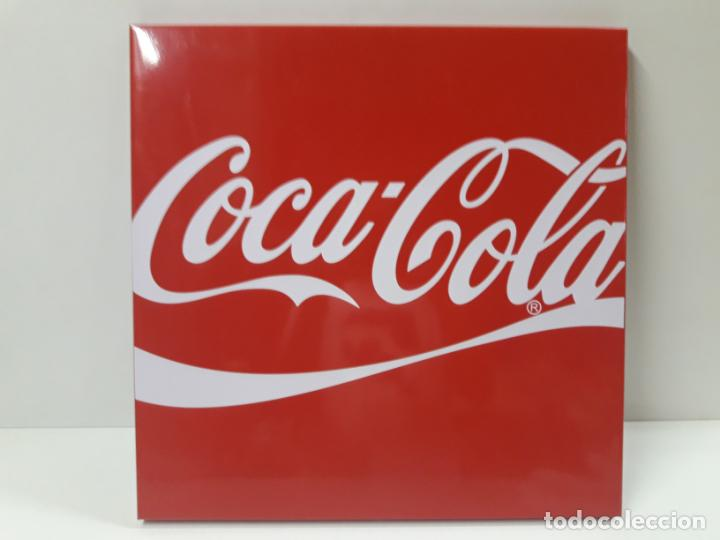 Coleccionismo de Coca-Cola y Pepsi: PLACA - CHAPA PROPAGANDA DE COCA COLA . ORIGINAL AÑOS 80 / 90 . MEDIDA 44 X 44 CM - Foto 9 - 132013598