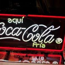 Coleccionismo de Coca-Cola y Pepsi: CARTEL LUMINOSO DE LA MARCA COCA-COLA EN NEON, FUNCIONA PERFECTAMENTE, NUEVO O COMO NUEVO. Lote 132107627