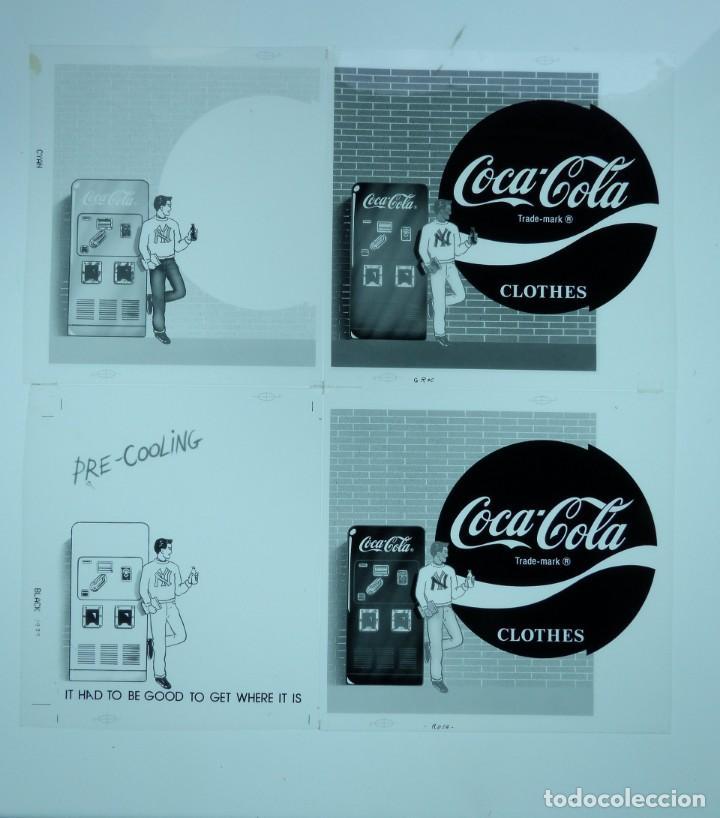 Coleccionismo de Coca-Cola y Pepsi: COCA-COLA 9 CLICHES NEGATIVOS ORGINALES PROCEDENTES DE LA IMPRENTA ORTEGA EN VALENCIA, AÑOS 1960-70 - Foto 7 - 132639306