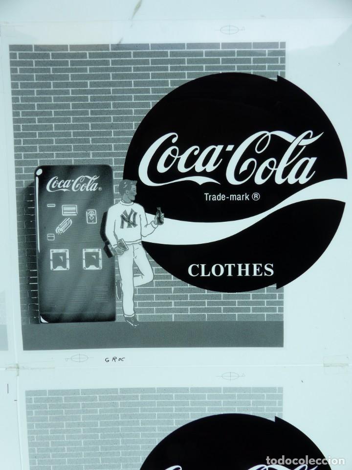 Coleccionismo de Coca-Cola y Pepsi: COCA-COLA 9 CLICHES NEGATIVOS ORGINALES PROCEDENTES DE LA IMPRENTA ORTEGA EN VALENCIA, AÑOS 1960-70 - Foto 10 - 132639306