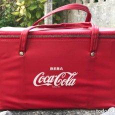 Coleccionismo de Coca-Cola y Pepsi: ANTIGUA BOLSA NEVERA DE COCA COLA - VINTAGE - AÑOS 70. Lote 132747418