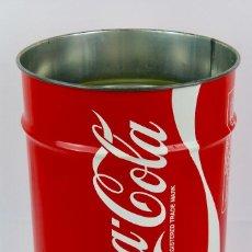 Coleccionismo de Coca-Cola y Pepsi: PAPELERA DE COCA COLA .MARCA BALVI .AÑOS 80.. Lote 132903126