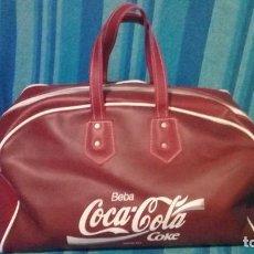 Coleccionismo de Coca-Cola y Pepsi: BOLSA COCA COLA AÑOS 70 BUEN ESTADO ALGO RARA. Lote 133490562