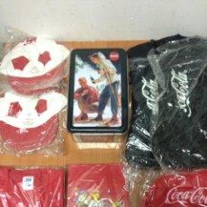 Coleccionismo de Coca-Cola y Pepsi: LOTE DE PRODUCTOS COCA COLA. Lote 133983413