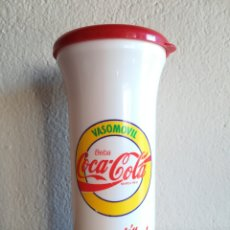 Coleccionismo de Coca-Cola y Pepsi: COCA-COLA VASOMÓVIL SENSACIÓN DE VIVIR - COKE COCACOLA. Lote 134256350