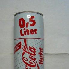 Coleccionismo de Coca-Cola y Pepsi: 1 LATA DE COCA COLA LIGHT VACIA ALEMANA 0,5 L AÑO 1990 . Lote 134851710