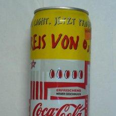 Coleccionismo de Coca-Cola y Pepsi: 1 LATA DE COCA COLA LIGHT VACIA ALEMANA 0,5 L AÑO 1995 . Lote 134858526