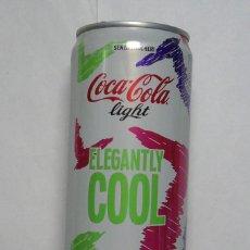 Coleccionismo de Coca-Cola y Pepsi: 1 LATA DE COCA COLA LIGHT ITALIANA VACIA 0,33 L AÑO 2016 . Lote 134858790