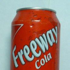 Coleccionismo de Coca-Cola y Pepsi: 1 LATA DE FREEWAY COLA ALEMANA 0,33 L AÑO 2010 . Lote 134859538