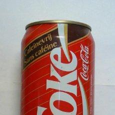 Coleccionismo de Coca-Cola y Pepsi: 1 LATA DE COCA COLA SIN VACIA BELGA AÑO1989 0,33 L . Lote 134859698
