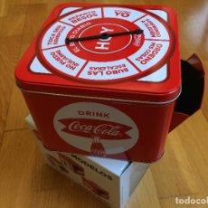 Coleccionismo de Coca-Cola y Pepsi: CAJA COCA COLA. TIPO HUCHA, JUEGO. COLECCIONABLE. Lote 135418862