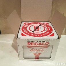 Coleccionismo de Coca-Cola y Pepsi: CAJA METALICA COCACOLA COCA COLA AHORA ES EL MOMENTO NUEVA VER FOTOS. Lote 135484506