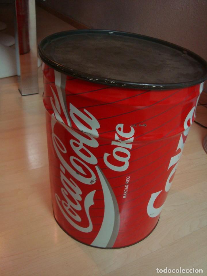 Coleccionismo de Coca-Cola y Pepsi: antiguo taburete coca cola - Foto 2 - 135620822