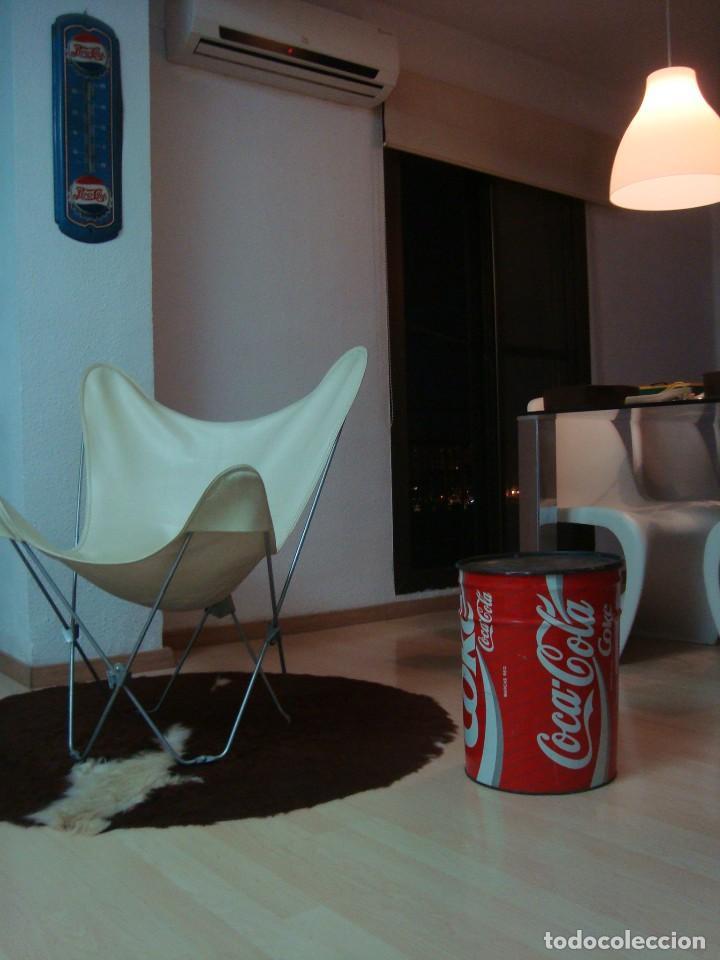 Coleccionismo de Coca-Cola y Pepsi: antiguo taburete coca cola - Foto 3 - 135620822