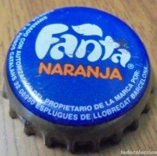 Collectionnisme de Coca-Cola et Pepsi: CHAPA REFRESCO FANTA NARANJA -SPAIN- FABRICANTE -TCI-. Lote 179068610