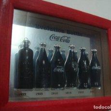 Coleccionismo de Coca-Cola y Pepsi: MINI BOTELLAS COCACOLA EVOLUCION HISTORICA. Lote 135843818