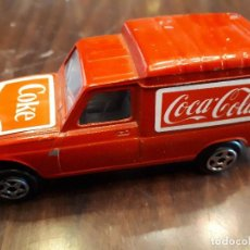 Coleccionismo de Coca-Cola y Pepsi: RENAULT 4 COCA-COLA. FOURGONETTE. VET CAR. NOREV. MADE IN FRANCE. ESCALA 1/43. ORIGINAL. Lote 136116266