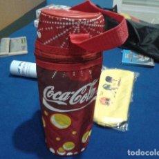 Coleccionismo de Coca-Cola y Pepsi: COCA COLA ( NEVERA DE MANO ) PREMIO COCA COLA 2006 . Lote 136119086