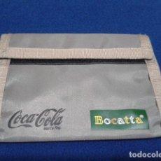 Coleccionismo de Coca-Cola y Pepsi: COCA COLA ( CARTERA ) PREMIO BOCATTA NUEVA . Lote 136119166