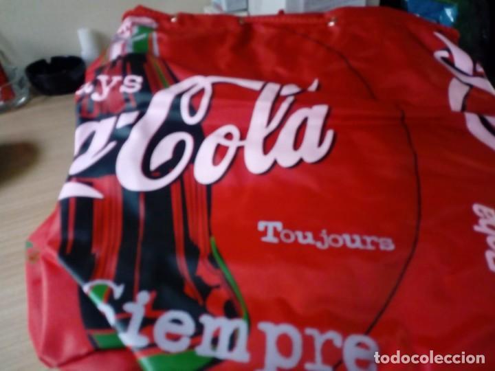 Coleccionismo de Coca-Cola y Pepsi: Mochila tipo saco de coca.cola nunca usada - Foto 2 - 136144054
