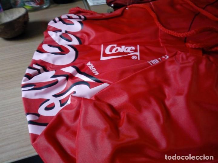 Coleccionismo de Coca-Cola y Pepsi: Mochila tipo saco de coca.cola nunca usada - Foto 3 - 136144054