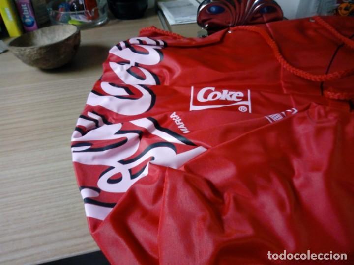 Coleccionismo de Coca-Cola y Pepsi: Mochila tipo saco de coca.cola nunca usada - Foto 6 - 136144054