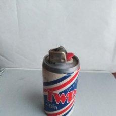 Coleccionismo de Coca-Cola y Pepsi: TWIN COLA SIN CAFEINA MECHERO BIC . Lote 136364690