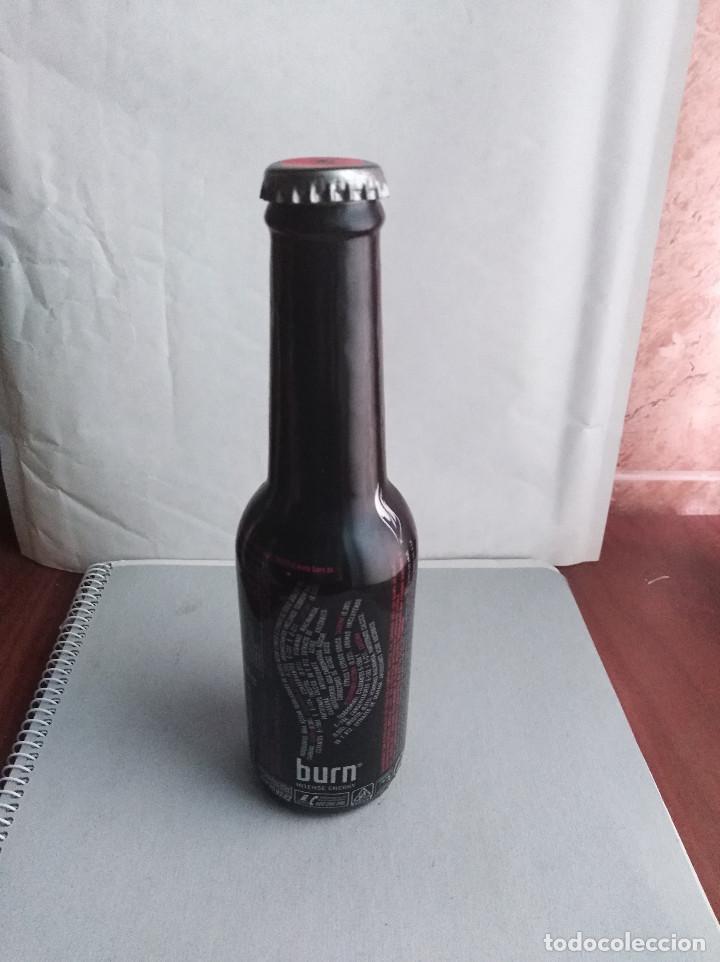 Coleccionismo de Coca-Cola y Pepsi: botella burn intense energy coca cola - Foto 2 - 136365574